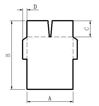 Схема склейки коробок