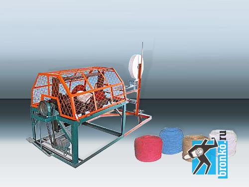 Данная машина предназначена для производства веревки из рулонной бумаги...