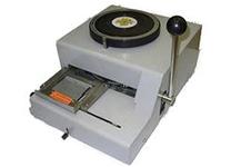 Аппарат для выдавливания знаков в пластиковых картах BW (Эмбоссер) ручной - фото